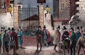 Club de la Fraternit� - Rue Martel - Paris - French Second Republic (1849)