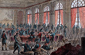 Paris Commune at City Hall (1871)