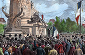Place de la République - Paris - Bastille Day - First celebration - July 14th 1880