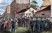 French Second Republic - 1849 - Demonstration of the Montagnards - Conservatory of Arts and Crafts