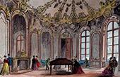 Salon of the Old Hotel Soubise in Paris (now Palais des Archives)