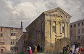 Temple of Auguste and Livie at Vienne (France)
