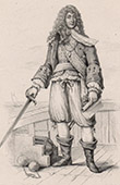 Portrait of Tourville (1642-1701) - French naval commander