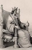 Portrait of Charles I of Naples - Charles of Anjou (1221-1285)