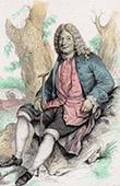 Portrait of Alain Ren� Lesage (1668-1747) - Dramaturge