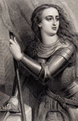 Portrait of Joan of Arc (1412-1431)