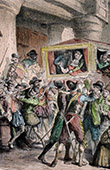 Assassination of Henry IV by Ravaillac on May 14th 1610