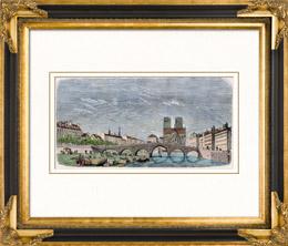 Geschichte und Denkm�ler von Paris - Alte Pont de la Tournelle