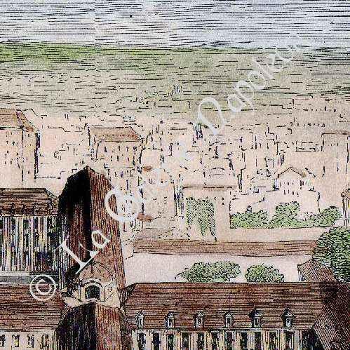 Gravures anciennes histoire et monuments de paris - Buffalo grill sainte genevieve des bois ...