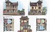 House - Villa in Nogent-sur-Marne (M. Delaire Architect)