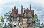 House - Villa in Neuilly-sur-Seine (M. Sauvestre Architect)