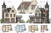 House - Villa in Nogent-sur-Marne (M. Tardif-Delorme Architect)