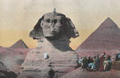 Sphinx - Great Pyramid of Giza - Pyramid of Cheops (Egypt)