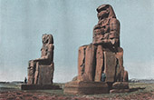 The Colossi of Memnon - Thebes - Ancient Egypt - Egyptology - Necropolis (Egypt)
