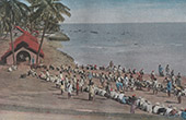 Andaman Islands - Port Blair - Meal of prisoners (India)