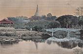 Ansicht von Rangun - Park (Myanmar)