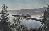 Canadian-Pacific-Railway - Aberdeen Steamship on the Okanagan Lake (Canada)