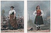 Tyrolean Costume - Tyrolean Fashion - Tyrol (Austria)