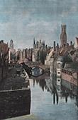 Bruges - Flanders - A Canal (Belgium)