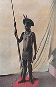 Brasilien - Indigen V�lker - Indiane Jauapiry - Ethnische Gruppe - Traditionelle Kleidung - Waffen