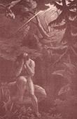 Kunst Akt - Paradies - Himmel - Adam und Eva - Adam nach der S�nde