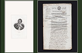 Historical Document - French Revolution - 1794 - Auction of Goods Confiscated to an Emigrant