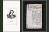 Historical Document - French Revolution - 1792 - License of Hawker