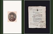 Historical Document - French Revolution - 1801 - 20th Military Division - Military Discharge for Medical Reasons