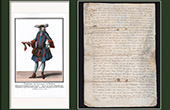 Historical Document on Parchment - Reign of Louis XIII of France - 1609 - France XVIIth Century