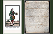 Historical Document on Parchment - Reign of Louis XIII of France - 1636 - France XVIIth Century