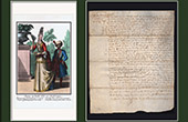 Historical Document on Parchment - Reign of Louis XIII of France - 1604 - France XVIIth Century
