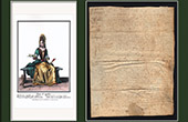 Historical Document on Parchment - Reign of Louis XIV of France - 1652 - France XVIIth Century