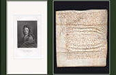 Historical Document on Parchment - Reign of Louis XIII of France - 1634 - France XVIIth Century