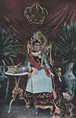 Madagascar - Portrait of Ranavalona III - Last sovereign of the Kingdom of Madagascar