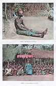 Dahomey - Benin - V�stafrika - Minister av Kung Toffa - Palabre - M�te - Konung - Kung Ifanhim