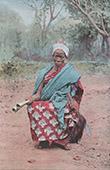 Dahomey - Benin - V�stafrika - Fetischism - H�xeri - Palabre - Folkdr�kt - Bygdedr�kt