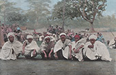 Dahomey - Benin - V�stafrika - Muselmaner i Ketou