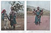 Dahomey - Benin - V�stafrika - Kvinnar och Barner