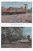 Dahomey - Benin - V�stafrika - Boning - Hyddar