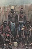 Madagascar - Fahavalos prisoners - Colonialism
