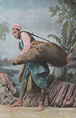 View of the Cairo (Egypt) - Water Carrier
