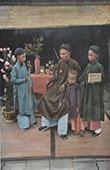 Tongking - Gouvrneur Dao Tan und ihre Kinder (Vietnam)