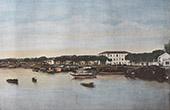 View of Chinese Arroyo - Junk Flotilla - Sampan - Saigon - Ho Chi Minh City (Vietnam) - Rive gauche