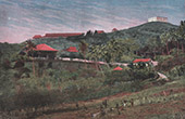 View of Canala - Military camp (New Caledonia - France)