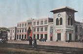 View of the Cairo - Railway station (Egypt)