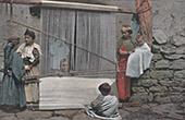 Kabylie - Weaving - Loom (Algeria)