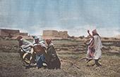 Kabylie - Tillage in Kabylie (Algeria)