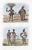 Västafrika - Häxeri - Trolldom - Grigri de Ma Yerba - Grigri de Ba Simera - Kvinna av Timanni - Musiker av Kouranko