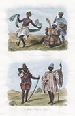 Bewohner von Soulimana - Musiker - H�uptling von Sangara (Sierra Leone)