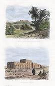 View of Qasr el-Zayan - Oasis - Necropolis near Khargeh (Egypt)
